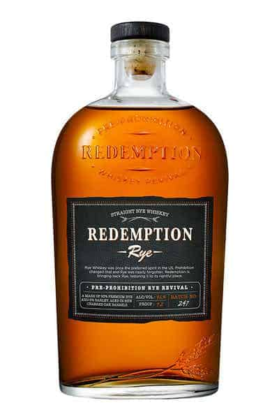 Redemption Straight Rye Whiskey | Drizly