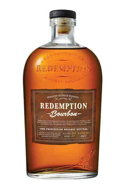 Redemption Straight Bourbon Whiskey | Drizly