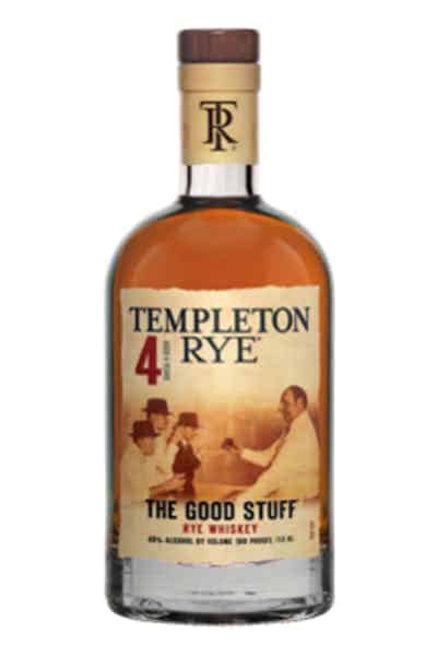 Templeton Rye Whiskey The Good Stuff | Drizly
