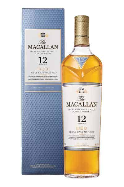 The Macallan Triple Cask Matured 12 Years Old | Drizly
