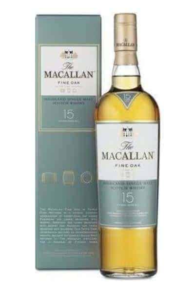 The Macallan Fine Oak 15 Year | Drizly