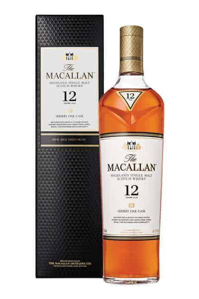 The Macallan Sherry Oak 12 Years Old | Drizly