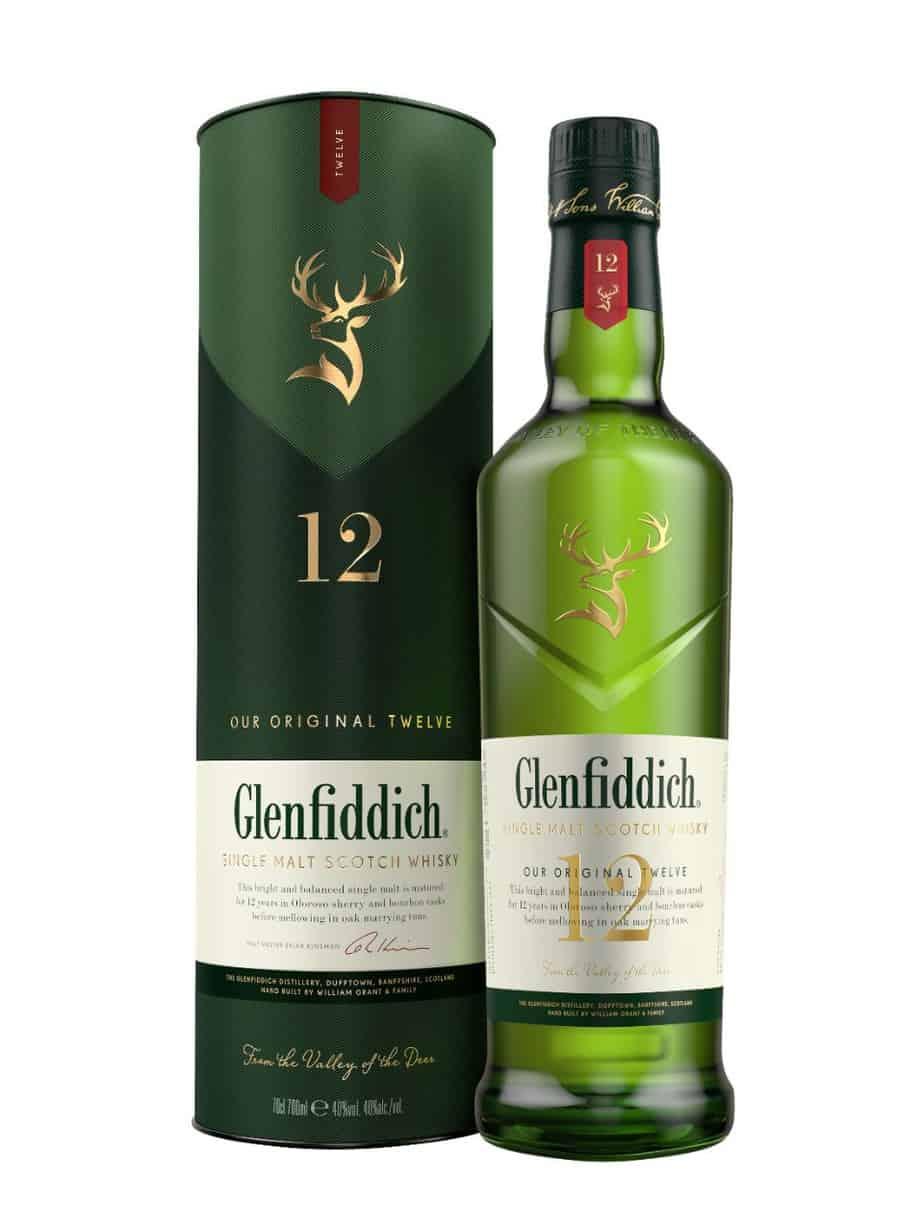 Glenfiddich 12 Year Old Single Malt Scotch Whisky | Drizly