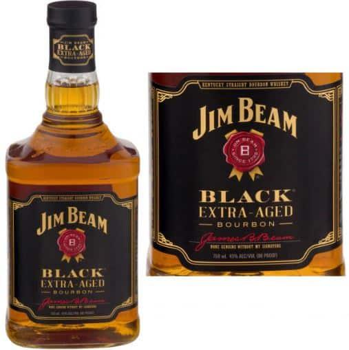 Jim Beam Black Extra Aged Bourbon   Liquorama