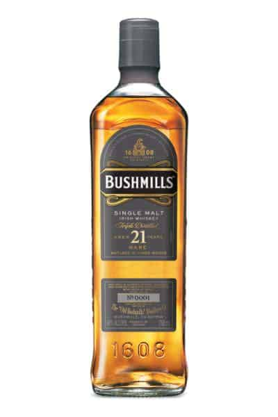 Bushmills 21 Year Single Malt Irish Whiskey | Drizly